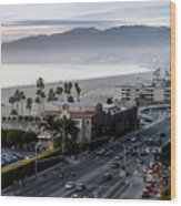 The California Incline Wood Print