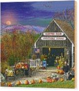 The Campton Farm Wood Print