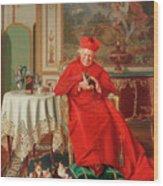 The Cardinal's Favourite Wood Print