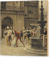 The Carnival Procession Wood Print