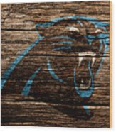 The Carolina Panthers 4b Wood Print