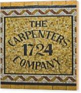 The Carpenters Company Wood Print