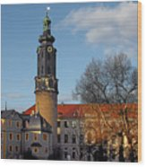 The Castle - Weimar - Thuringia - Germany Wood Print