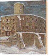 The Castle Wood Print by Anna Folkartanna Maciejewska-Dyba