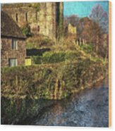The Castle At Brecon Wood Print