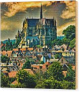 The Cathedral At Arundel Wood Print
