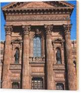 The Cathedral Basilica Of Saints Peter And Paul Wood Print