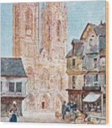 The Cathedral Front Wood Print