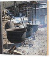 The Cauldrons Wood Print