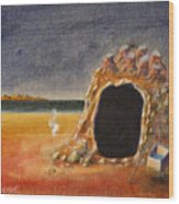 The Cave Of Orpheas Wood Print