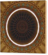The Ceiling Wood Print