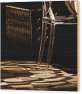 The Chair Wood Print