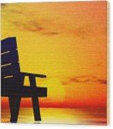 The Chair Wood Print