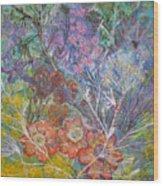 The Chakrah Garden Wood Print