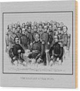 The Champions Of The Union -- Civil War Wood Print