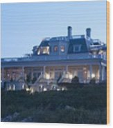 The Chanler At Cliff Walk Wood Print