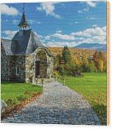 The Chapel Wood Print