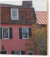 The Charm Of Charleston Sc Wood Print