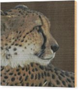 The Cheetah 2 Wood Print