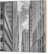 The Chicago Loop Wood Print