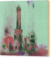 The Chicago Water Tower 535 4 Wood Print