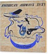 The China Clipper Wood Print