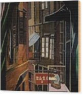 The Chinese Painter Wood Print