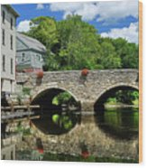 The Choate Bridge Wood Print