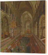 The Choir - Canterbury Cathedral Wood Print