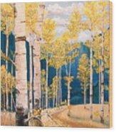 The Chosen Path Wood Print
