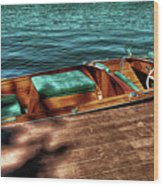 The Chris Craft Continental - 1958 Wood Print