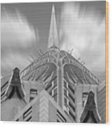 The Chrysler Building 2 Wood Print by Mike McGlothlen