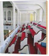 The Church Balcony Wood Print