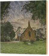 The Church Wood Print