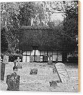 The Churchyard Wood Print