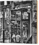 The Cigar Store Wood Print