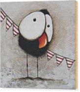 The Circus Crow Four Wood Print