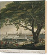 The City Of Philadelphia In The State Of Pennsylvania. North America Wood Print