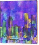 The City  Sydney Wood Print