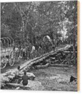 The Civil War: Soldiers Wood Print