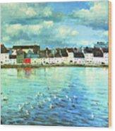 The Claddagh Galway Wood Print