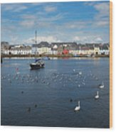 The Claddagh Galway Wood Print