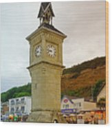 The Clock Tower At Shanklin Wood Print