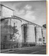 The Coal Silos Wood Print