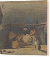 The Cobbler Wood Print