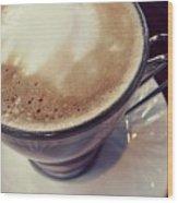 The Coffee Royal Wood Print