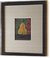 The Cold Accusative Pear Wood Print