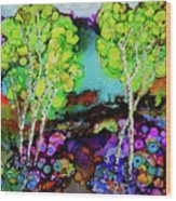 The Colors of Colorado Wood Print