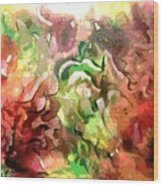 The Colors Of Paradise Wood Print