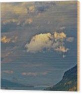 The Columbia Gorge Wood Print